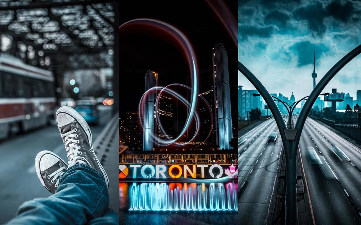 Collage of photos by Toronto photographer @mr.brianjames