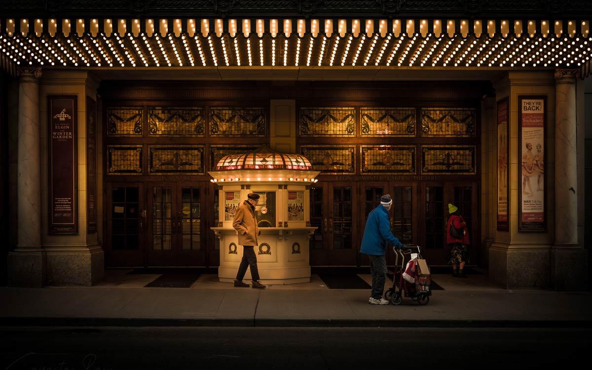 Street photography photo editing (Winter Garden Theatre Toronto) by @justsayantan